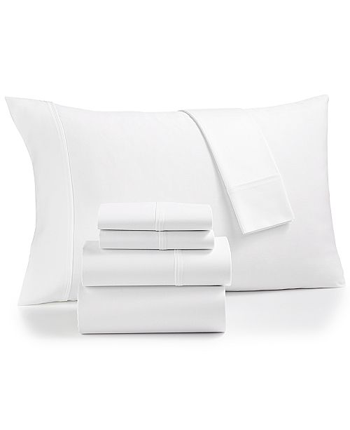 Fairfield Square Collection Essex StayFit 6-Pc King Sheet Set 1200 Thread Count, Created for Macy's
