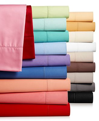 Charter Club Damask Solid Sheet Sets, 550 Thread Count Pure Supima Cotton, Only at Macy's