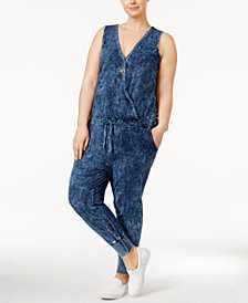 Standards and Practices Trendy Plus Size Estelle  Jumpsuit