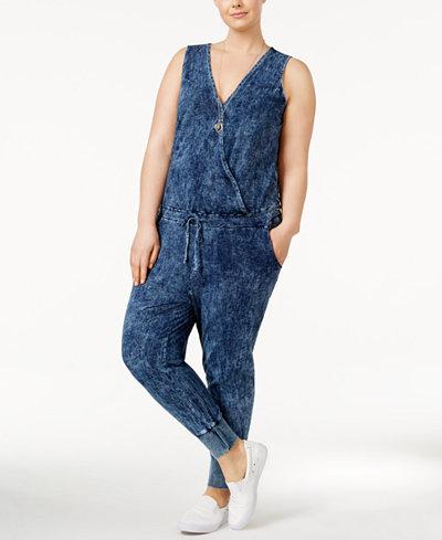 Standards and Practices Trendy Plus Size Estelle Jumpsuit
