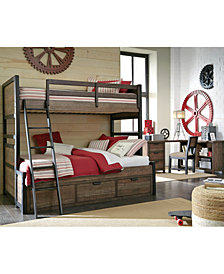 Fulton County Kids Bunk Bed Furniture Collection