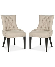 Sidonia Set of 2 Side Chairs, Quick Ship