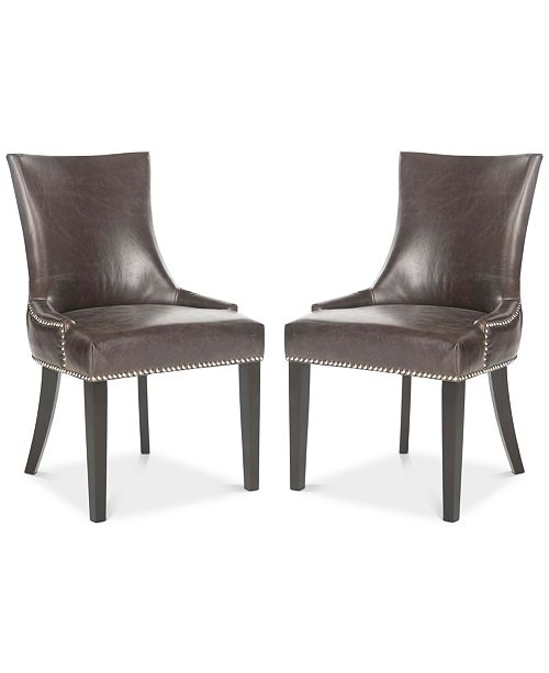 Safavieh Aneva Set of 2 Dining Chairs, Quick Ship