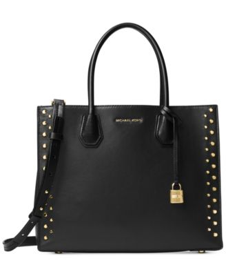 Image of MICHAEL Michael Kors Studio Mercer Stud Large Convertible Tote