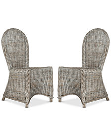 Merdan Set of 2 Dining Chairs, Quick Ship