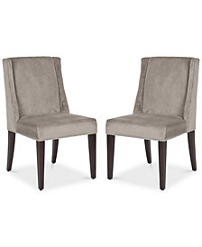 Fagann Set of 2 Dining Chairs, Quick Ship