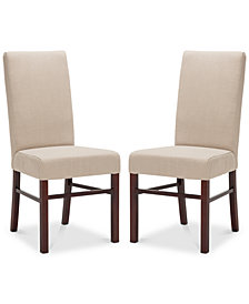 Clyde Set of 2 Dining Chairs, Quick Ship