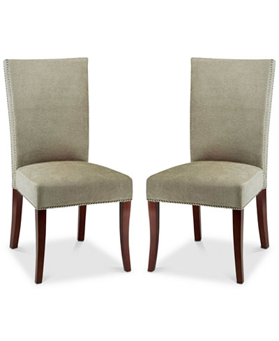 Toban Set of 2 Dining Chairs, Quick Ship