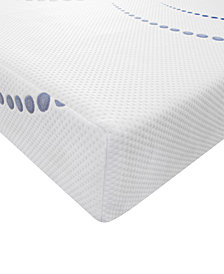 "SensorGel 8"" Firm Gel-Infused Memory Foam Mattress - King, Quick Ship, Mattress In A Box"