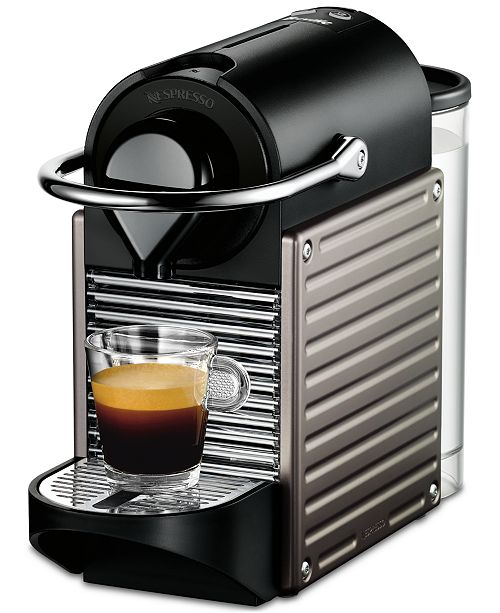 nespresso breville pixie titan single serve espresso machine