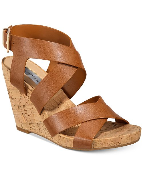 87c0434dc ... INC International Concepts I.N.C. Women s Landor Strappy Wedge Sandals