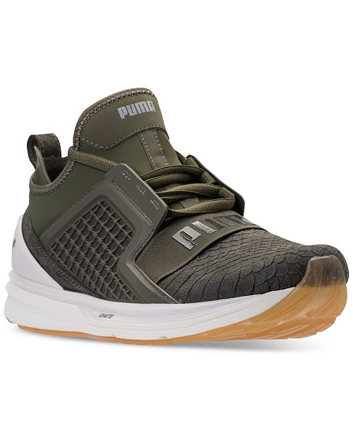 f26e9e0a3cb ... Puma Men s Ignite Limitless Reptile Casual Sneakers from Finish Line ...