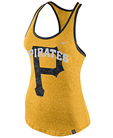 Nike Women's Pittsburgh Pirates Marled Racer Tank