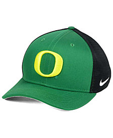 Nike Oregon Ducks Aero Bill Mesh Swooshflex Cap
