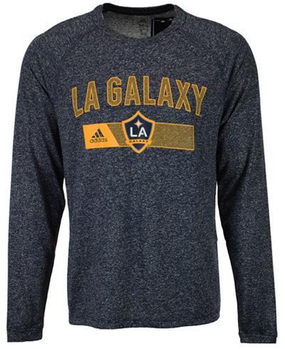 adidas Men's LA Galaxy Forward Long Sleeve T-Shirt