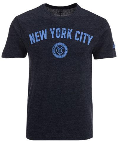 adidas Men's New York City FC City Worn T-Shirt