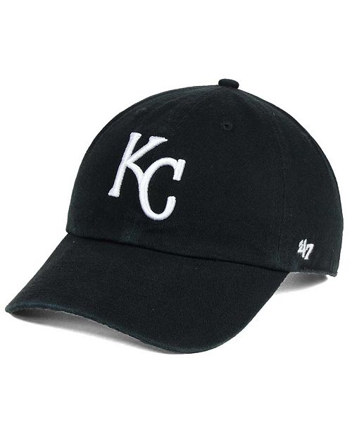cheaper the best popular stores 47 Brand Kansas City Royals Black White Clean Up Cap & Reviews ...