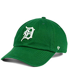 '47 Brand Detroit Tigers Kelly/White Clean Up Cap