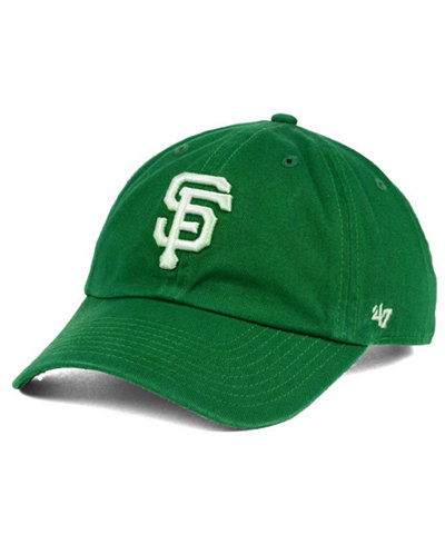 '47 Brand San Francisco Giants Kelly/White Clean Up Cap