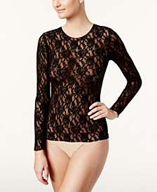 Long-Sleeve Lace Top 128L