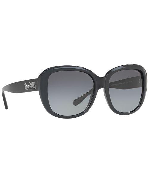 Coach Polarized Sunglasses Hc8207 Amp Reviews Sunglasses By Sunglass Hut Handbags