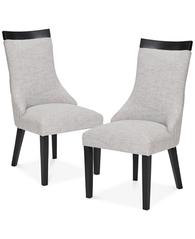 Claudet Set of 2 Side Chairs, Quick Ship