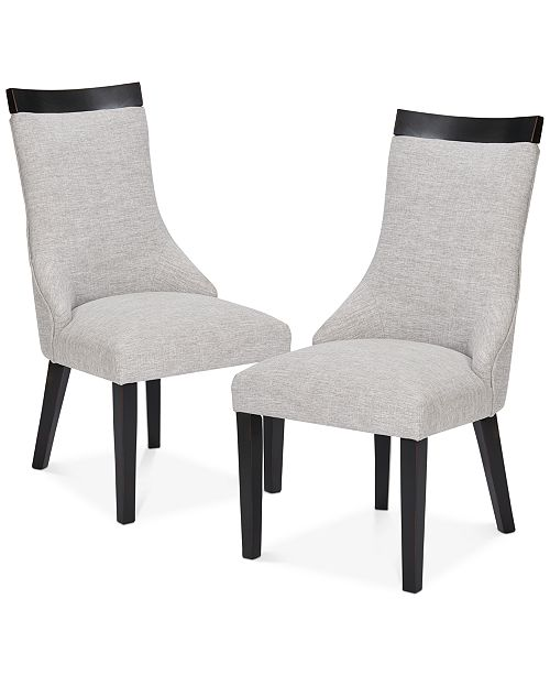JLA Home Claudet Set of 2 Side Chairs, Quick Ship