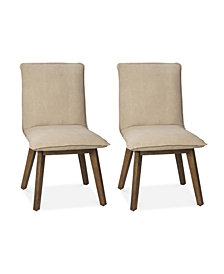 Kendall Set of 2 Side Chairs, Quick Ship