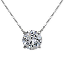 Giani Bernini Cubic Zirconia Pendant Necklace in Sterling Silver, Created for Macy's