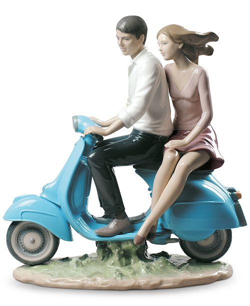 Lladro Riding with You Figurine