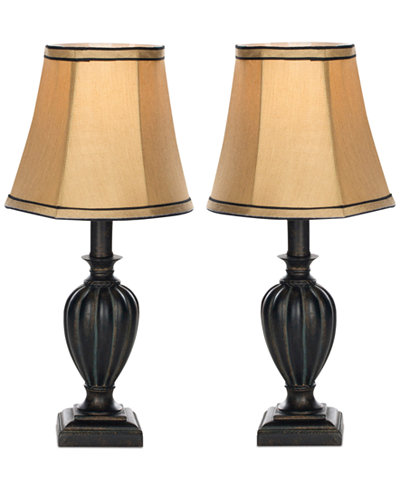 Safavieh Set of 2 Gemma Urn Table Lamps