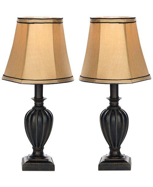 Safavieh Set of 2 Gemma Urn Table Lamps