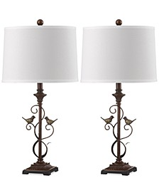 Set of 2 Birdsong Table Lamps