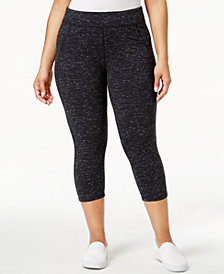 Calvin Klein Performance Plus Size Capri Leggings