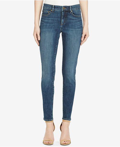 29b573edabd ... Lauren Ralph Lauren Ultimate Slimming Premier Curvy Cropped Skinny Jeans  ...