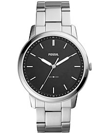 Fossil Men's The Minimalist Stainless Steel Bracelet Watch 44mm FS5307