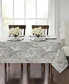 "Waterford Taylor 70"" x 84"" Tablecloth"