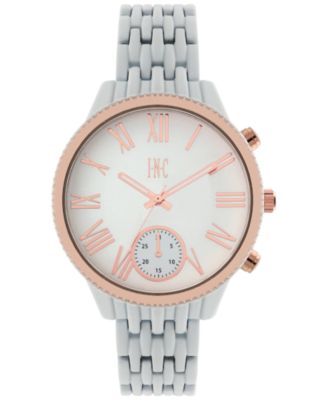 Image of INC International Concepts Women's April White Bracelet Watch 40mm, Only at Macy's