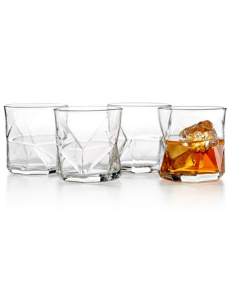 Cassiopea 4-Pc. Rocks Glass Set