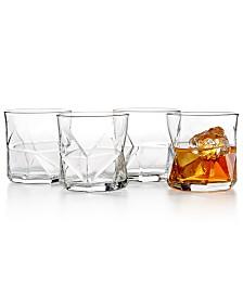 Bormioli Rocco Cassiopea 4-Pc. Rocks Glass Set