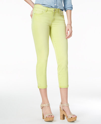 Jessica Simpson Forever Cuffed Skinny Ankle Jeans