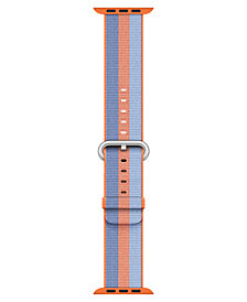 Apple Watch 42mm Orange Woven Nylon Band