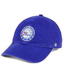 '47 Brand Philadelphia 76ers Clean Up Cap