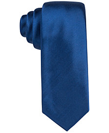 "Alfani Men's Blue 2.75"" Slim Tie, Created for Macy's"