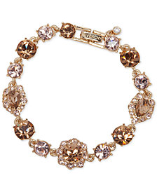 Givenchy Stone and Crystal Link Bracelet