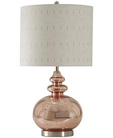 Rose Mercury Table Lamp