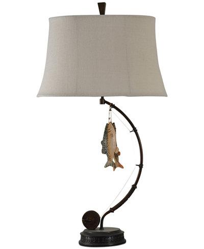 Stylecraft gone fishing table lamp lighting lamps home macys stylecraft gone fishing table lamp aloadofball Image collections