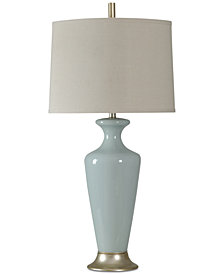 StyleCraft Glass Table Lamp
