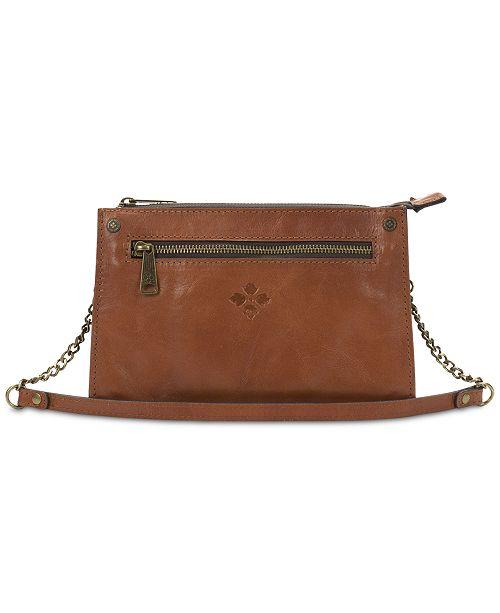 Patricia Nash Turati Smooth Leather Top-Zip Crossbody - Handbags ... 8ff600b547