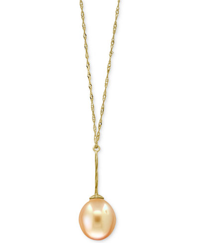 Pearl lace by effy cultured golden south sea pearl 11mm pendant pearl lace by effy cultured golden south sea pearl 11mm pendant 18 aloadofball Image collections